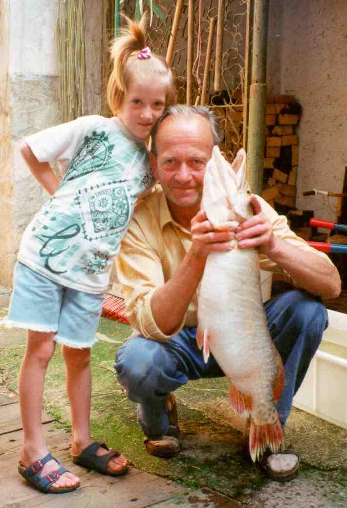 Bernhardsthal teich hecht for Jungfische im teich